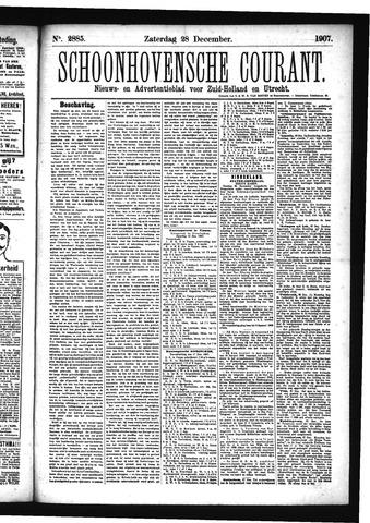 Schoonhovensche Courant 1907-12-28