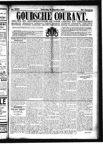 Goudsche Courant 1926-08-21