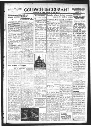 Goudsche Courant 1944-01-13
