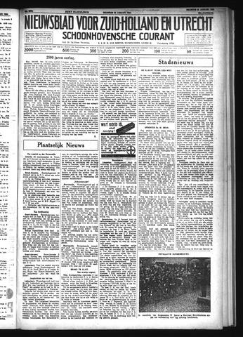 Schoonhovensche Courant 1934-01-22