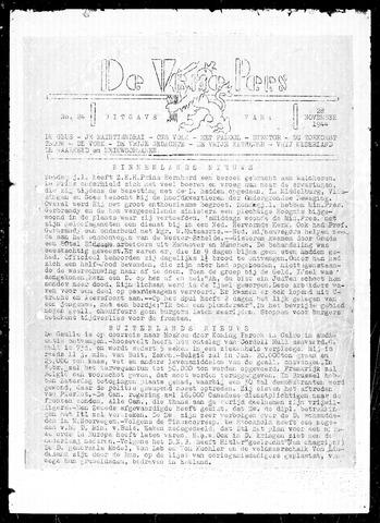De Vrije Pers 1944-11-28