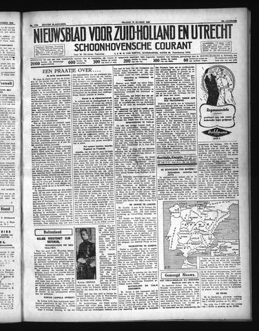 Schoonhovensche Courant 1936-10-16