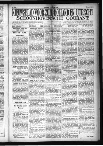 Schoonhovensche Courant 1928-02-08