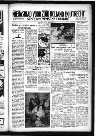 Schoonhovensche Courant 1954-04-30