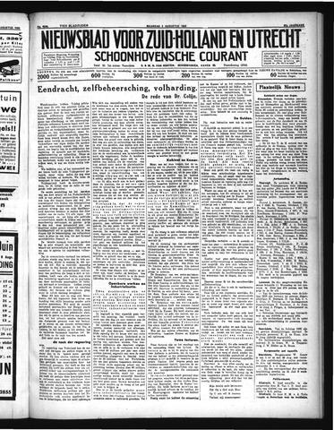 Schoonhovensche Courant 1935-08-05