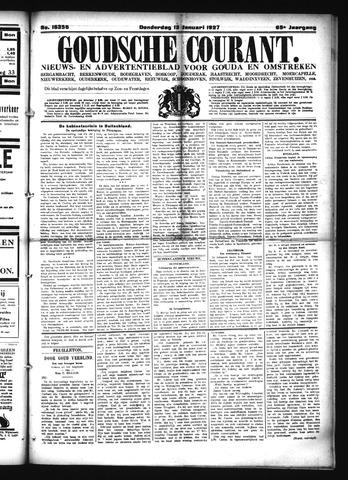 Goudsche Courant 1927-01-13