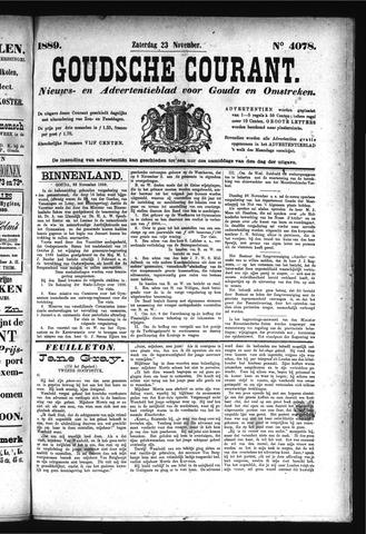 Goudsche Courant 1889-11-23