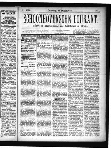 Schoonhovensche Courant 1911-12-23