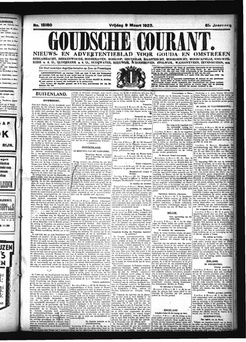 Goudsche Courant 1923-03-09