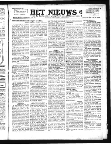 Schoonhovensche Courant 1946-01-09