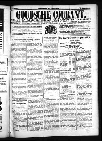 Goudsche Courant 1933-04-27