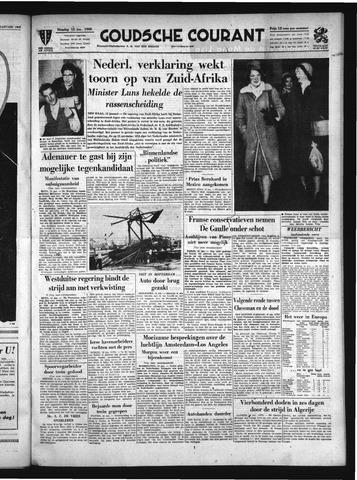 Goudsche Courant 1960-01-12