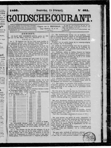 Goudsche Courant 1866-02-15