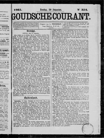 Goudsche Courant 1865-08-20