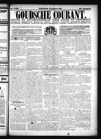 Goudsche Courant 1931-01-15