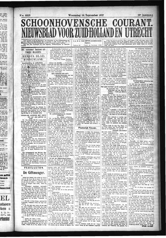 Schoonhovensche Courant 1927-09-14