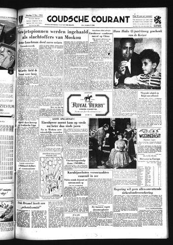 Goudsche Courant 1954-11-09