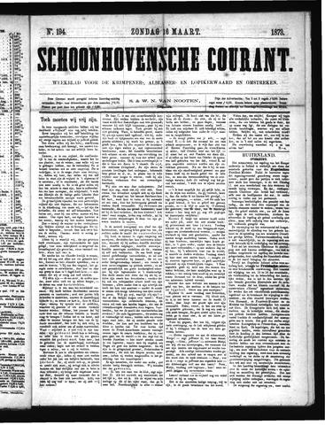 Schoonhovensche Courant 1873-03-16