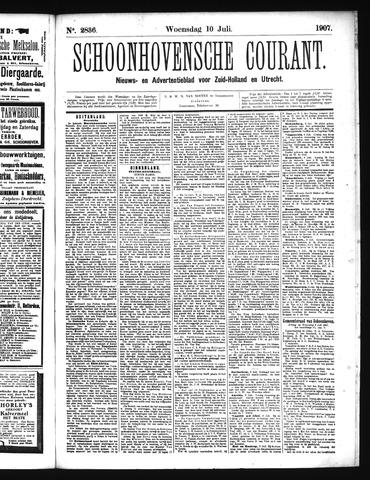Schoonhovensche Courant 1907-07-10