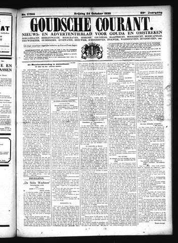 Goudsche Courant 1930-10-24