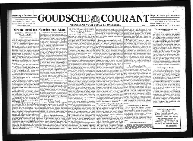Goudsche Courant 1944-10-09