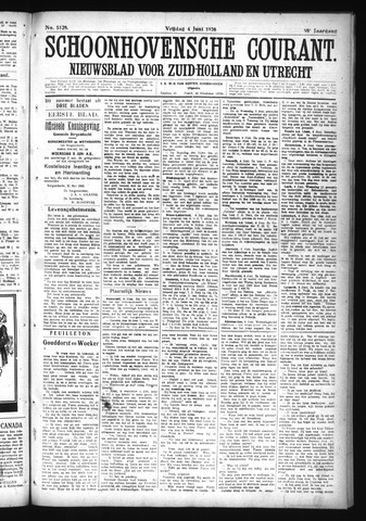 Schoonhovensche Courant 1926-06-04