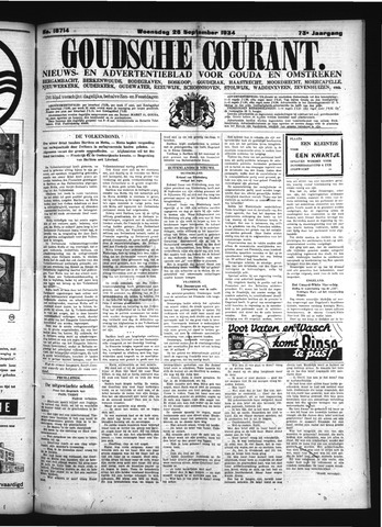 Goudsche Courant 1934-09-26
