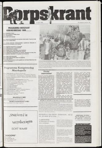 Dorpskrant 1986-04-23