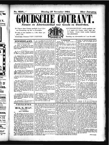 Goudsche Courant 1894-11-27