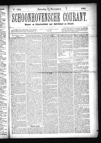 Schoonhovensche Courant 1894-12-15