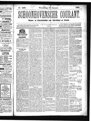 Schoonhovensche Courant 1902-01-15