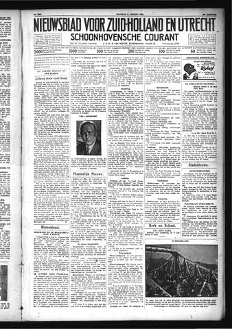 Schoonhovensche Courant 1932-01-11