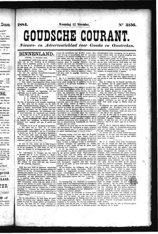 Goudsche Courant 1884-11-12