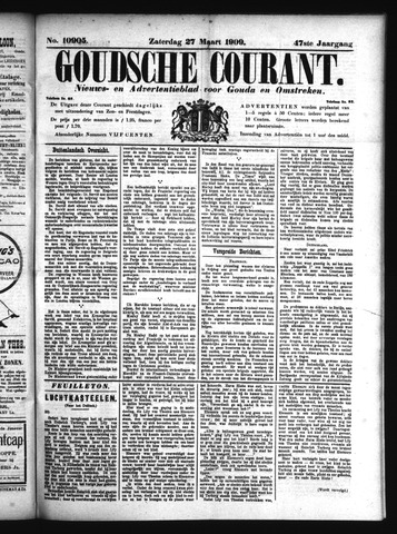 Goudsche Courant 1909-03-27