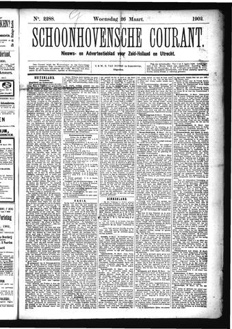 Schoonhovensche Courant 1902-03-26