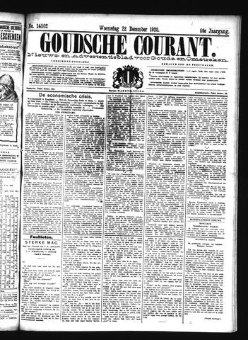 Goudsche Courant 1920-12-22