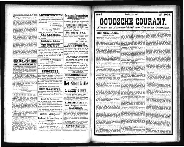 Goudsche Courant 1884-06-29
