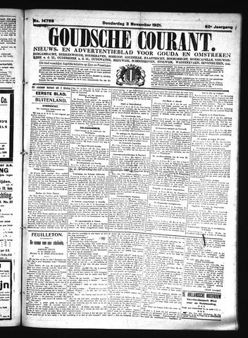 Goudsche Courant 1921-11-03