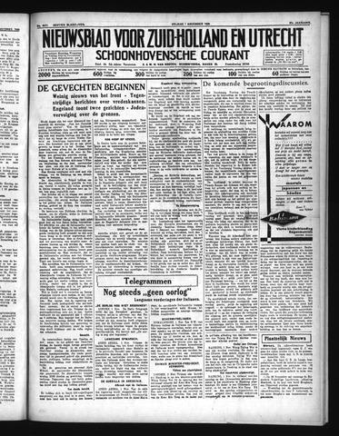 Schoonhovensche Courant 1935-11-01