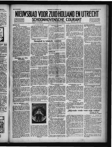 Schoonhovensche Courant 1947-11-19