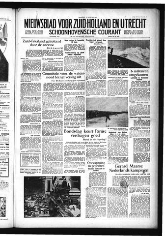 Schoonhovensche Courant 1955-02-28
