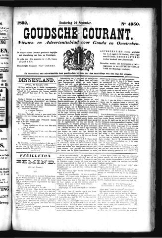 Goudsche Courant 1892-09-29