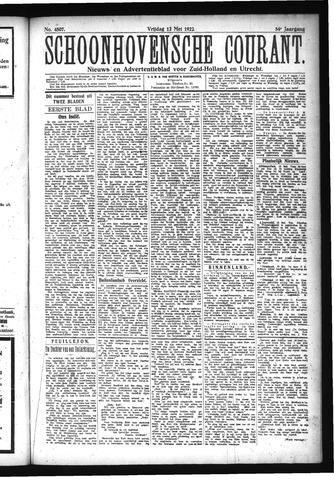 Schoonhovensche Courant 1922-05-12