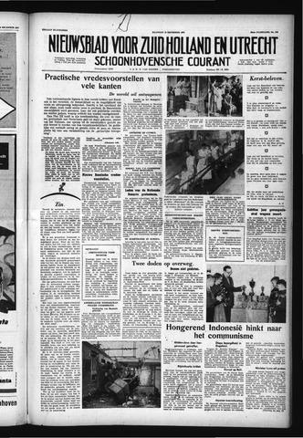 Schoonhovensche Courant 1957-12-23