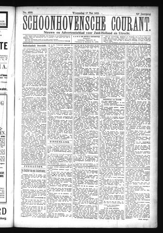 Schoonhovensche Courant 1922-05-17