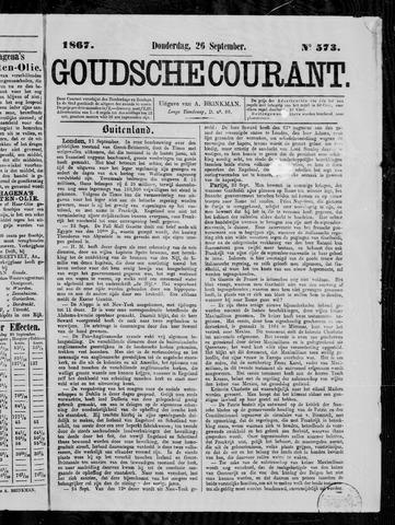 Goudsche Courant 1867-09-26