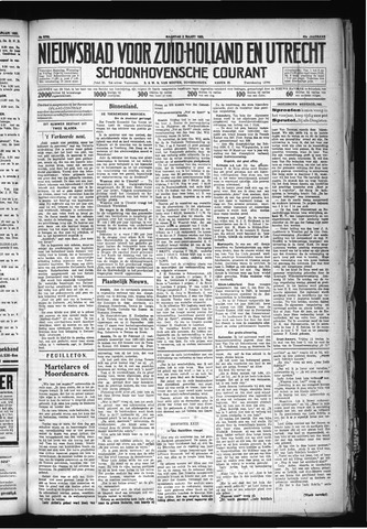 Schoonhovensche Courant 1930-03-03