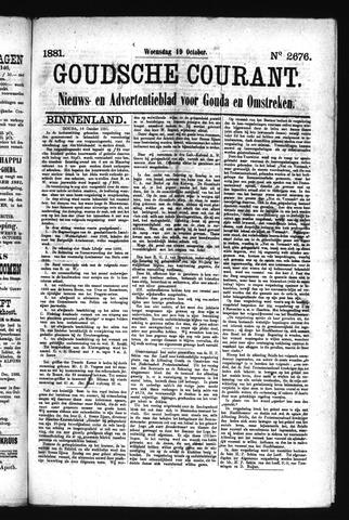 Goudsche Courant 1881-10-19