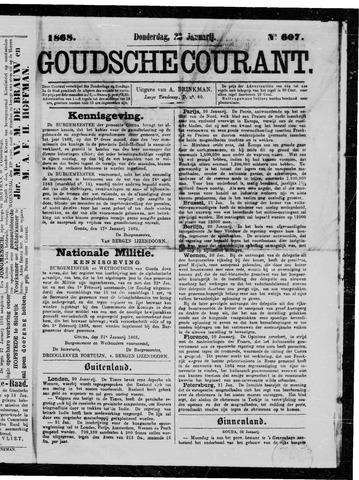 Goudsche Courant 1868-01-23