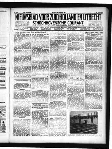 Schoonhovensche Courant 1937-12-13